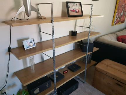 Credenza Borgsjo Ikea : Borgsjo ikea bookcase draw bookcases & shelves gumtree australia