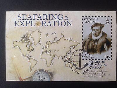 Solomon Islands 2009 Seafaring and Exploration Mini Sheet SG MS1268 Fine Used