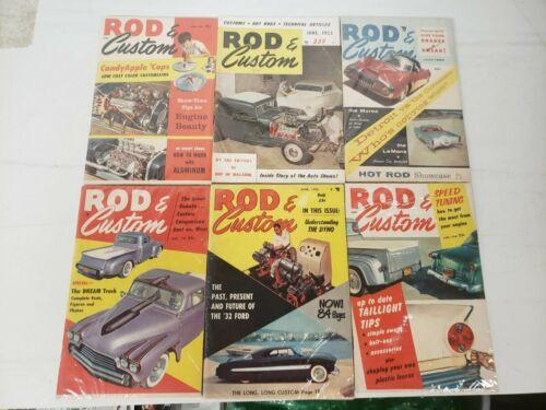 CJ Vintage Lot of Rod and Custom  Magazines