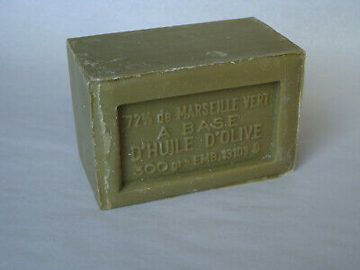 French Marius Fabre Marseille Soap - 300g Oblong Shaped Soap - Olive Olive French Soap