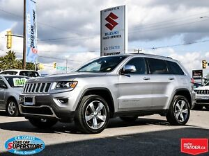 2016 Jeep Grand Cherokee Limited 4x4 ~Nav ~Backup Cam ~ Heated L