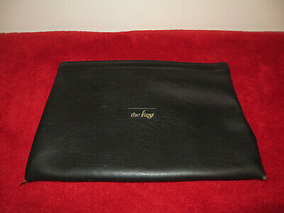 Vintage Hazel Black Vinyl Portfolio Document File Holder Carrier Case 11 X 16.5