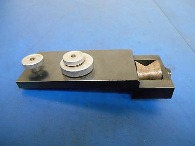 Microscope Slide Adjustment Assembly Table