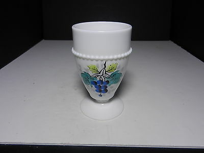 - Westmoreland Beaded Edge Water Goblet Blueberry BE-8 5