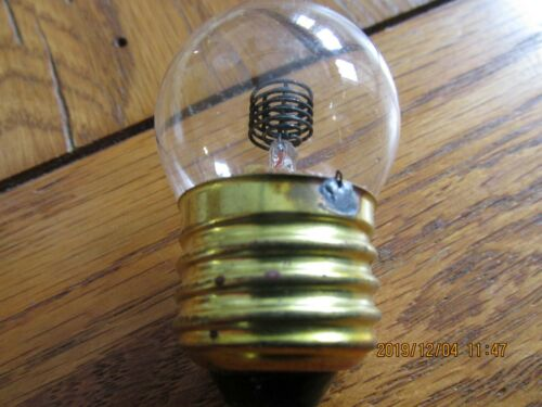 General Electric Glow Lamp / Bulb J5A New