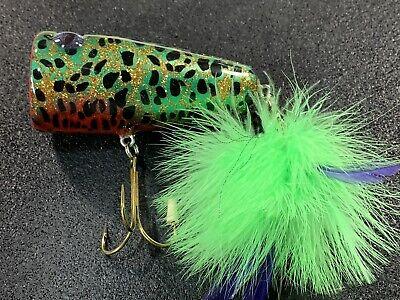Custom Topwater lure Aurora Color Walker PH Custom Lures