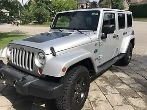 Jeep Wrangler édition Artic 2012