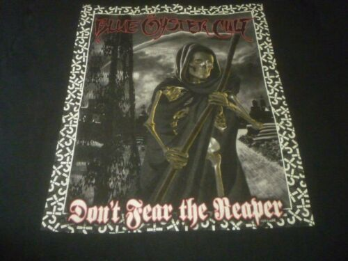 Blue Oyster Cult Vintage Shirt - Used Size 2XL ) Vintage Condition!!!