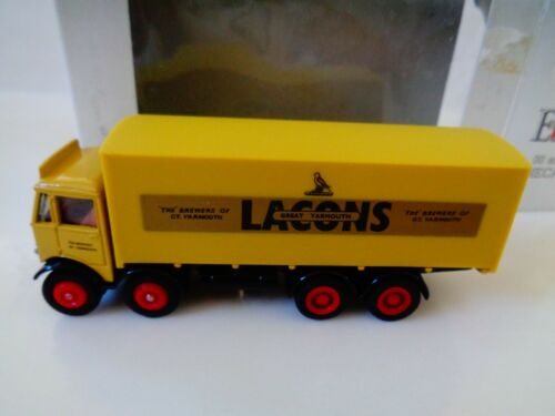 EFE -EXCLUSIVE FIRST EDITIONS - LACOS BOX TRUCK 1:76 SUITABLE OO/HO -NOS