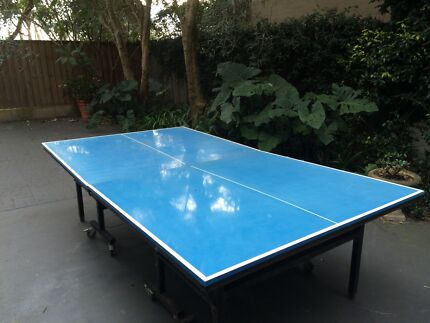 Waterproof Table Tennis Table with Bats Coogee Eastern Suburbs Preview