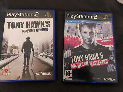 Tony Hawk's Proving Grounds And American Wasteland (Ps2) PlayStation 2 Bundle