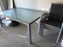 Modern Glass table and chairs Woolgoolga Coffs Harbour Area Preview