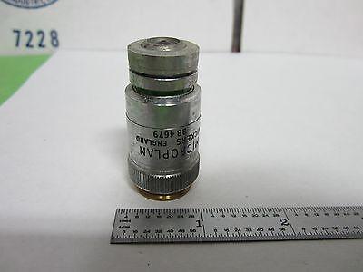 Microscope Objective Vickers England 40x Optics Binr6-20