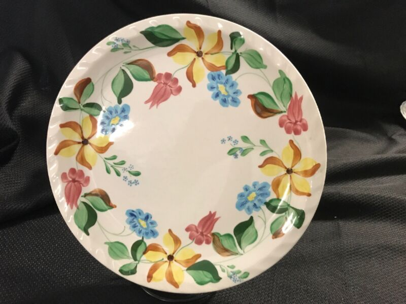 """Blue Ridge Southern Potteries SPRING MORNING Plate 10 1/4"""""""