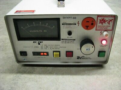 Hypot 4050at Ac Associated Research And Ground Continuity Tester