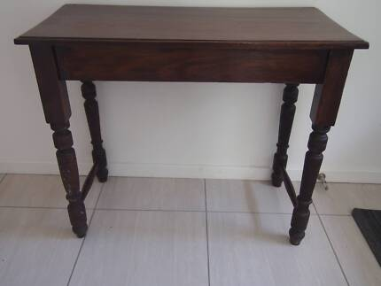 Antique Hall Table Dudley Lake Macquarie Area Preview