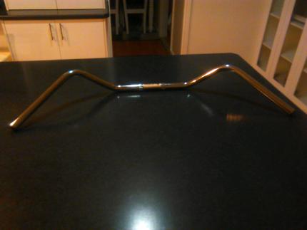 Wide one inch custom bars