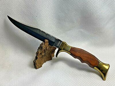 "Vtg Olsen Knife Company Survival Knife 4800 6"" Pre 1983 With Mismatched Sheath"