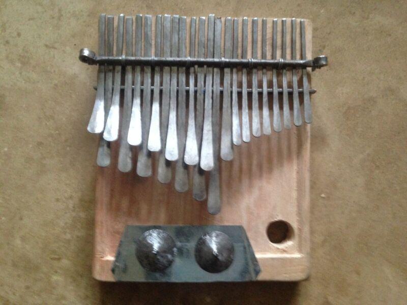 African Kalimba Mbira Thumb Piano