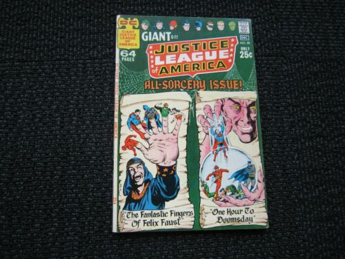 Justice League of America #85 - 1970, VF giant