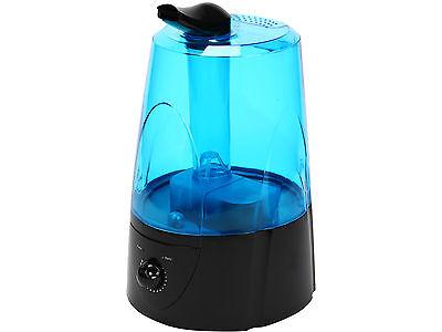 Rosewill Black Ultrasonic Dual Cool Mist 5L Auto Shut Off Humidifier Atomizer
