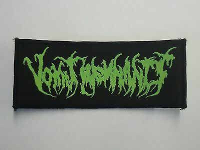 Vomit Remnants Brutal Death Metal Woven Patch