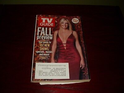 Heather Locklear: TV Guide: 2004-05 Fall Preview Issue: September 12-18, 2004