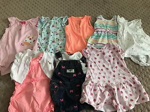 6-9 Months Baby Girl Summer Clothes