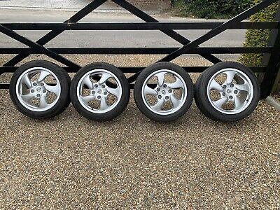 "Genuine Porsche Boxster 986 17"" alloy wheels & tires Continental"