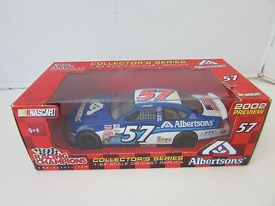 Racing Champions 77253 2002 Albertsons  57 Diecast Car 1 24 Scale Nib  S1