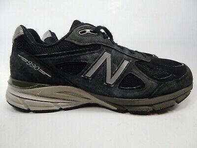 New Balance 990 v4 Size US 10 M (D) EU 44 Men's Running Shoes Black M990BK4