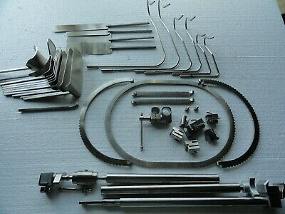 Aesculap 42 Piece Orthopedic Surgical Retractor System Set With Case Loaded