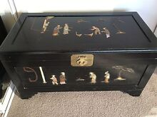 Camphor Chinese chest - mother of pearl inlay Cammeray North Sydney Area Preview