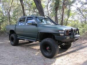 1997 TOYOTA HILUX LN106 5 Sp MANUAL 4WD DUAL CAB 2.8 TURBO DIESEL 4X4