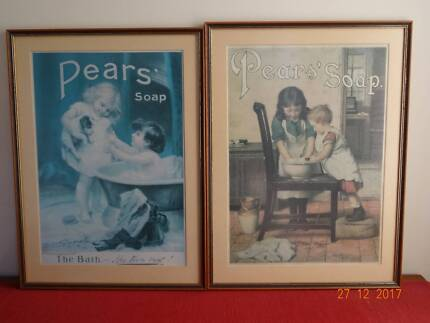Vintage 'Pears Soap' Wall Prints - Framed Iconic Images