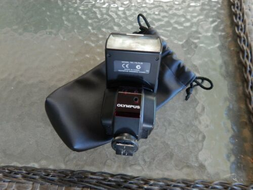 OLYMPUS FS-FL36 FLASH w/Case-  for E-VOLT Cameras. TESTED