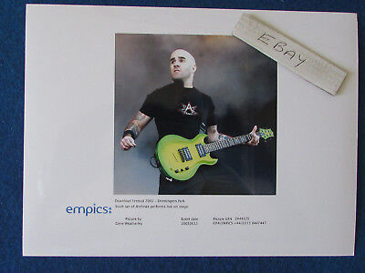 "Original Press Photo - 8""x6"" - ANTHRAX - Scott Ian - 2005"