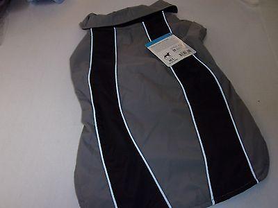 Reflective Sport Dog Pet Jacket M L  Petco Coat Puppy New Lined Coat Grey Black
