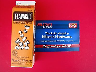 Flavacol Seasoning Popcorn Pop Corn Salt Ingredient Yellow Color Apeal 2045