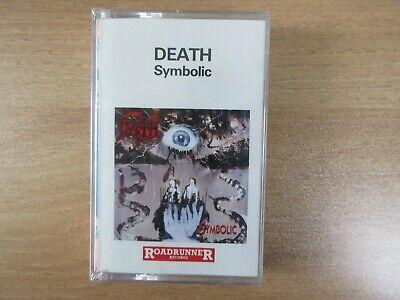Death – Symbolic 1995 Korea Cassette Tape SEALED NEW RARE