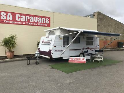 JAYCO STARCRAFT 16' POP TOP with AIR CONDITIONING