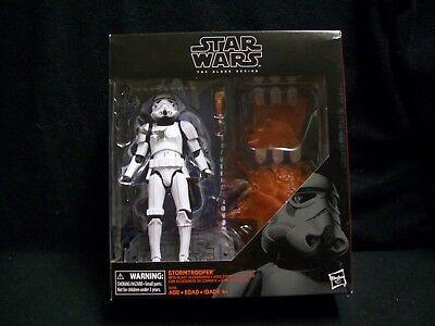Star Wars Black Series 6 inch Disney Store Stormtrooper with Blast Accessories.