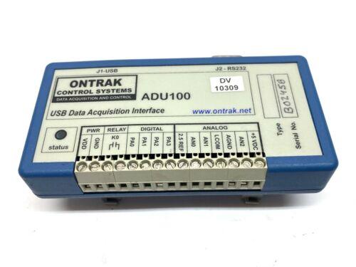 Ontrak ADU100 USB Data Acquisition Interface
