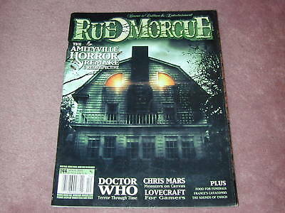 RUE MORGUE magazine # 44, The Amityville Horror remake, Doctor Who, Chris Mars - Morgue Doctor