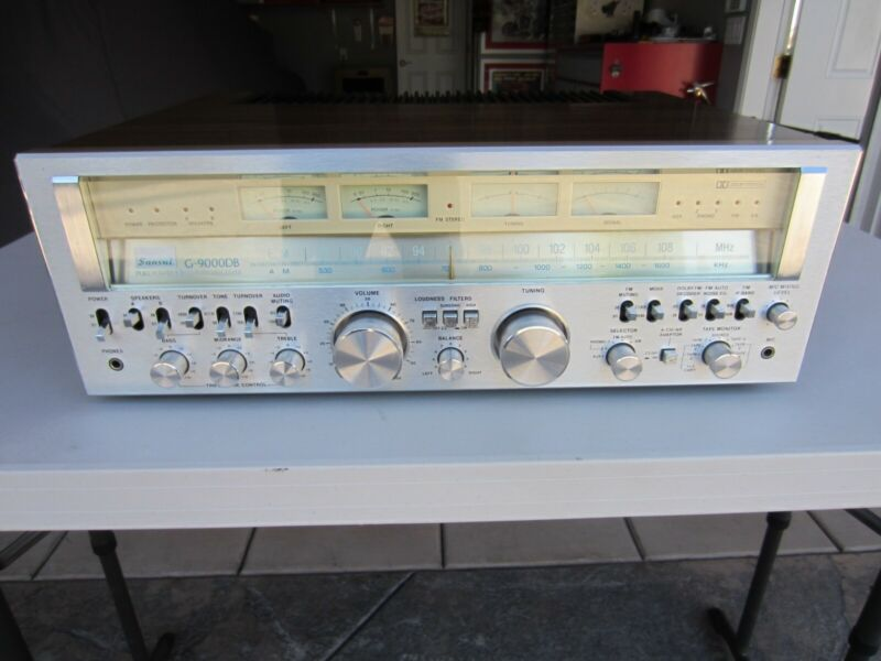 Sansui G9000db stereo receiver