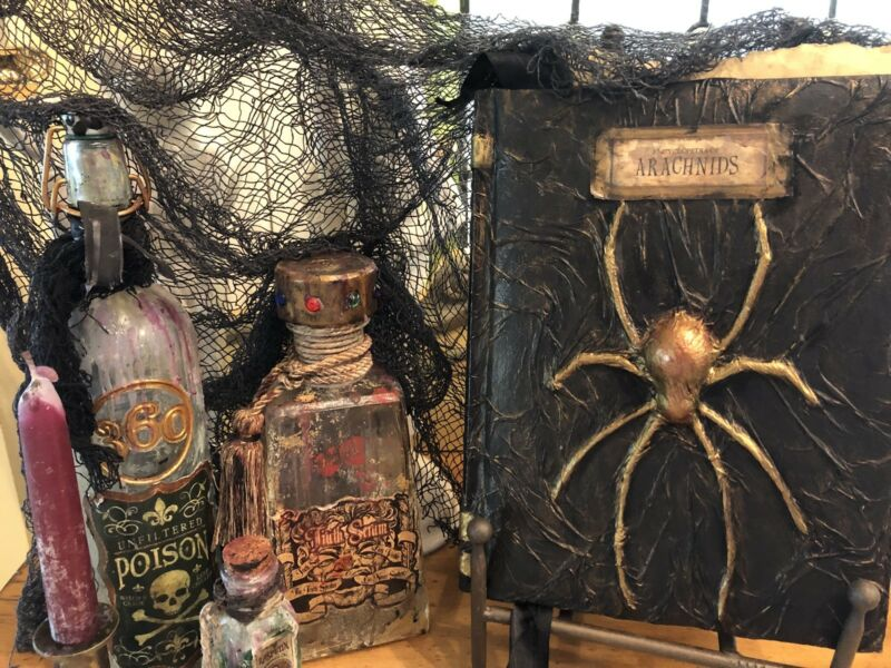 HALLOWEEN SPELLS CURSES HEXES WITCHES MAGIC ARACHNOPHOBIA