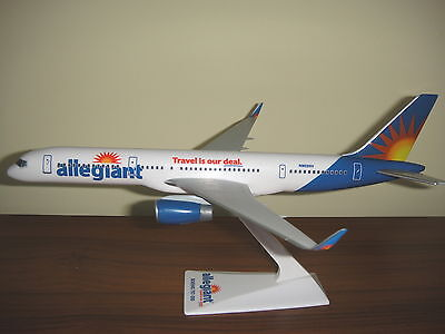 1 200 Allegiant Boeing B757 200Bbj Airplane  Travel Is Our Deal  Model Winglets