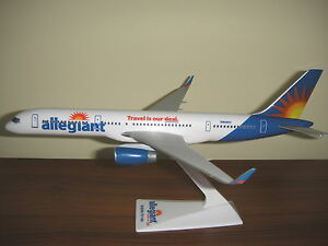 1/200 Allegiant Boeing B757-200BBJ Airplane Model winglets
