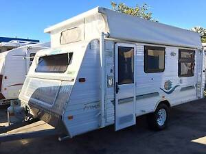2003 17'6 JAYCO FREEDOM SINGLE AXLE CARAVAN FULL ANNEXE INCLUDED Clontarf Redcliffe Area Preview