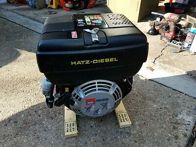 "Hatz 1B20 Engine - Diesel - Recoil Start - 3/4"" or optional 1"" Shaft"